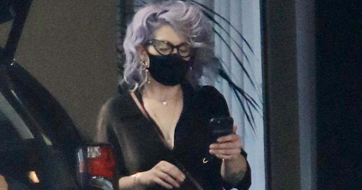 Kelly Osbourne wraps shrinking frame in skinny jeans after 6st weight loss