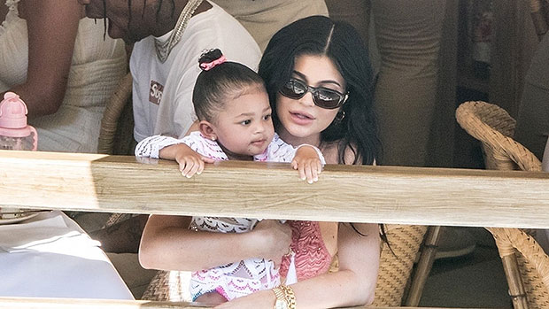 Stormi Webster, 2, Gushes Over Mom Kylie Jenner's New Lip Kit: 'That Looks Good Mommy' — Watch