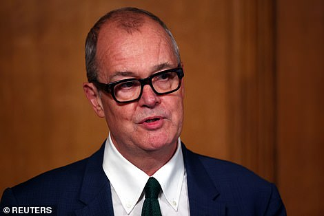 Sir Patrick Vallancesaid that numbers are 'still heading in the wrong direction' but also admitted Britain's outbreak appears to be slowing down