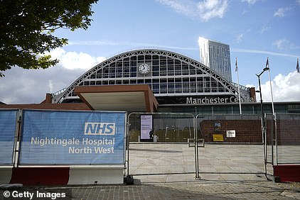 The NHS Nightingale for the North West was mothballed in June when the last coronavirus patient was discharged