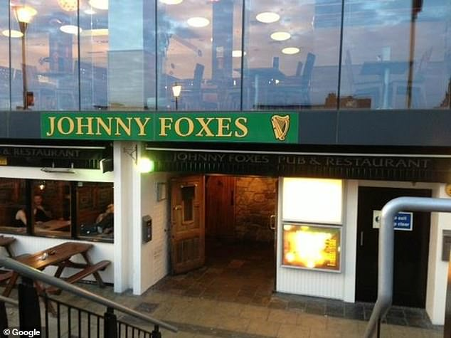 The Johnny Foxes pub landlord is not be allowed to serve alcohol indoors and has to close his business at 6pm in line with the nation-wide hospitality curfew
