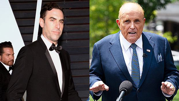 Sacha Baron Cohen's Borat Defends Rudy Giuliani's 'Sexy-Time' Scandal In New Video — Watch