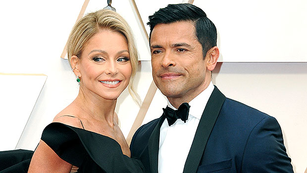 Kelly Ripa's Husband Mark Consuelos Is 'Packing Heat' In Super Tight Pants As Fans Notice Big 'Shadow'