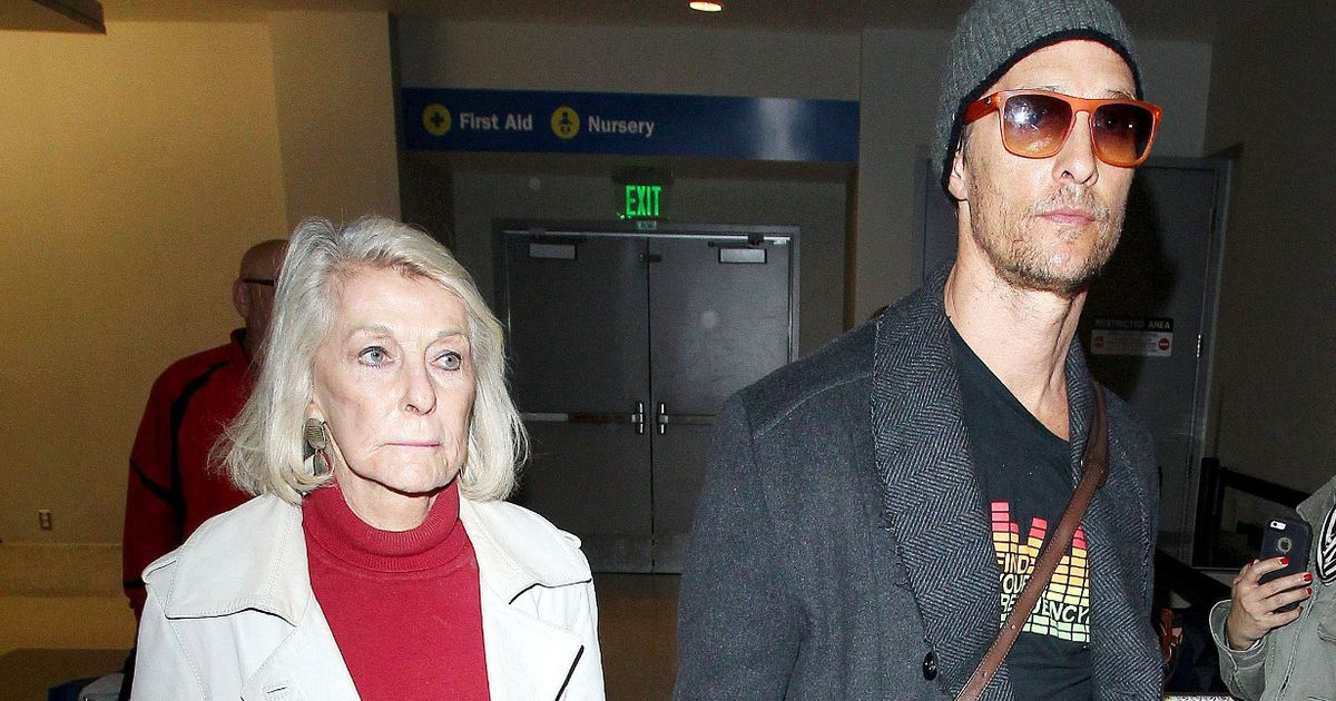 Matthew McConaughey's abusive father broke mum's finger four times in nasty rows