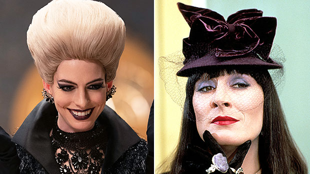 'The Witches': See Anne Hathaway's Scary Transformation Vs. Anjelica Huston's In OG Film