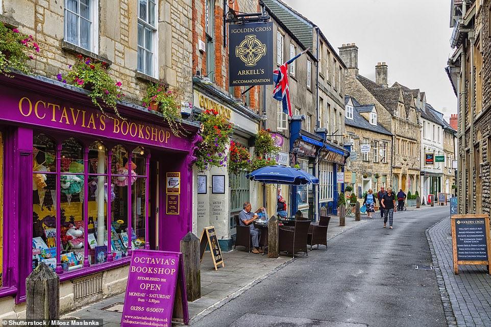 Mark writes that in Roman times, Cirencester, pictured, became a centre of fine living and prosperity: much like it is today