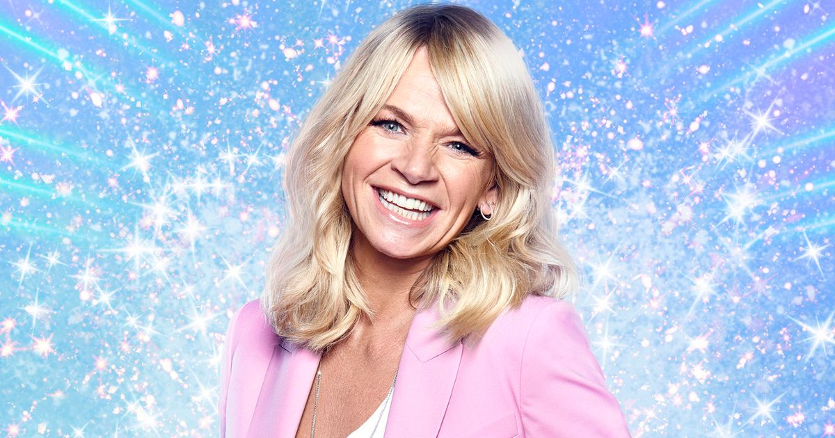 """Reformed party girl Zoe Ball """"loves"""" that she can't go out ahead of 50th bash"""