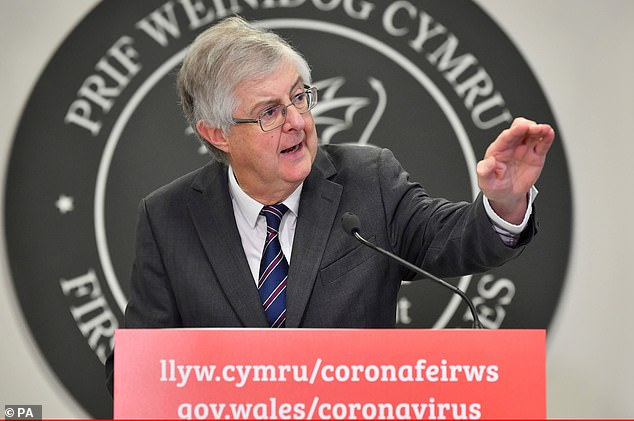 He promised to follow 'radical socialist traditions' when he was elected Welsh Labour leader in 2018