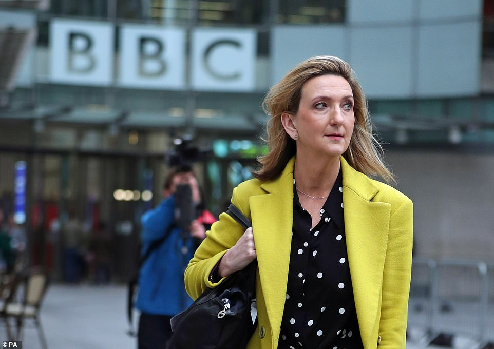 Exciting:Victoria Derbyshire is another star said to have 'signed up to star in' I'm A Celeb's first UK-based series, it was reported on Thursday