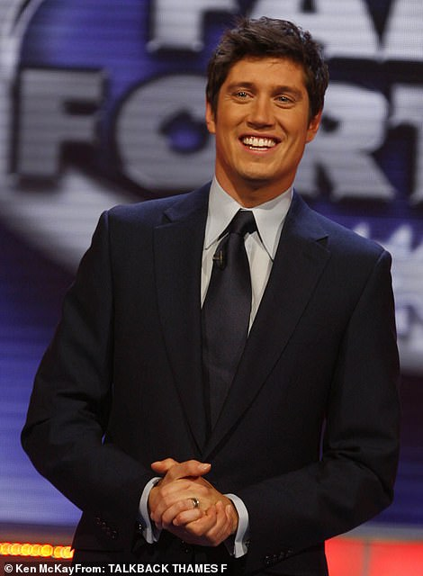Speculation: Presenter Vernon Kay, has also been reportedly offered an eye-watering £250,000 to take part in this year's show (pictured in2007)