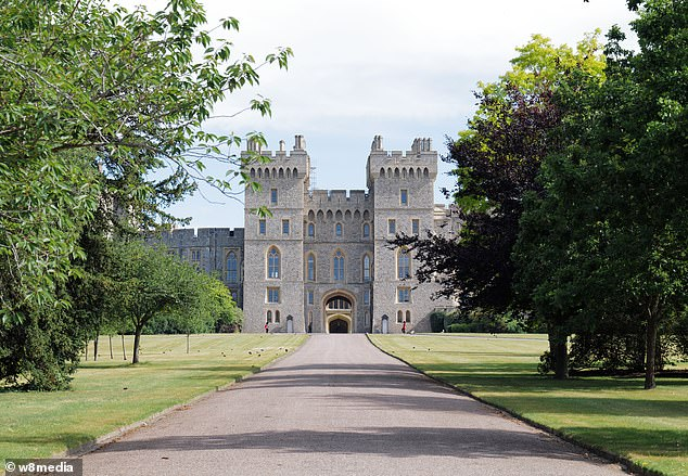 According to the job advert, candidates will be based mainly in either Windsor Castle or Buckingham Palace but will also 'work across other residences throughout the year' (pictured, Windsor Castle)