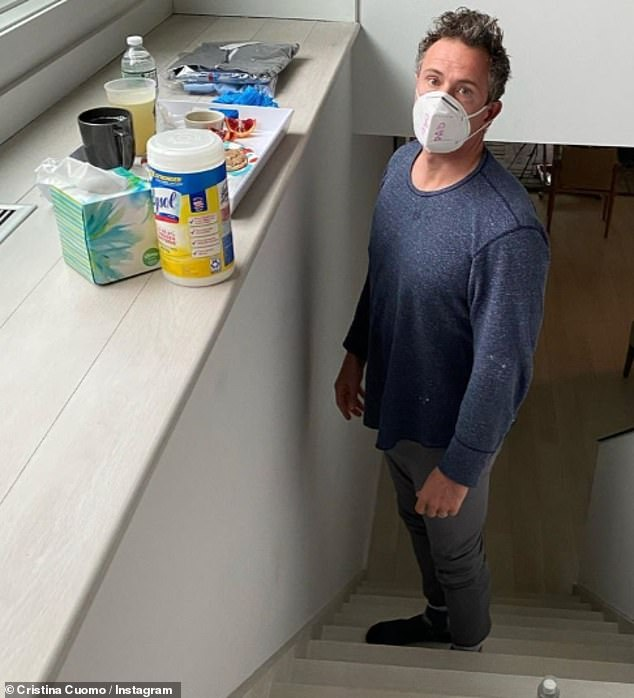 Cuomo had COVID earlier this year and filmed much of his quarantine for his CNN show, including emerging from his basement after 2 weeks. He has since spent much of his time on-air criticizing Republicans