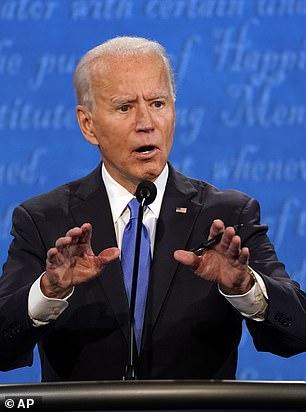 Democratic nominee and former Vice President Joe Biden