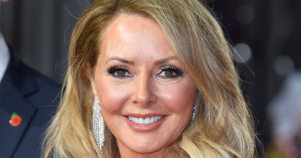 Carol Vorderman told she looks sexier than ever as she debuts striking pink hair