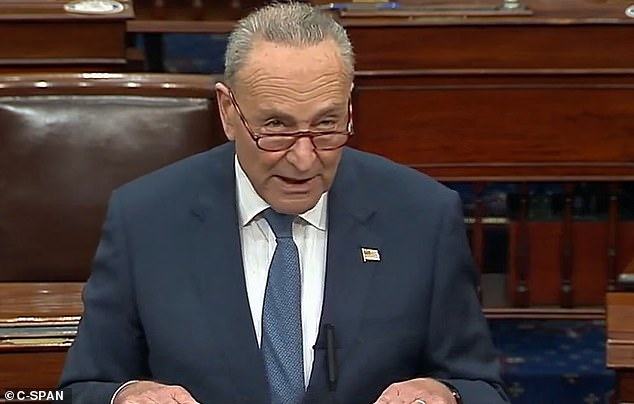 Objection: Democratic minority leader Chuck Schumer said that Republicans have tarnished themselves with the rush to put Barrett on the seat instead of letting voters decide the next president and allowing them to nominate a replacement of Ruth Bader Ginsburg