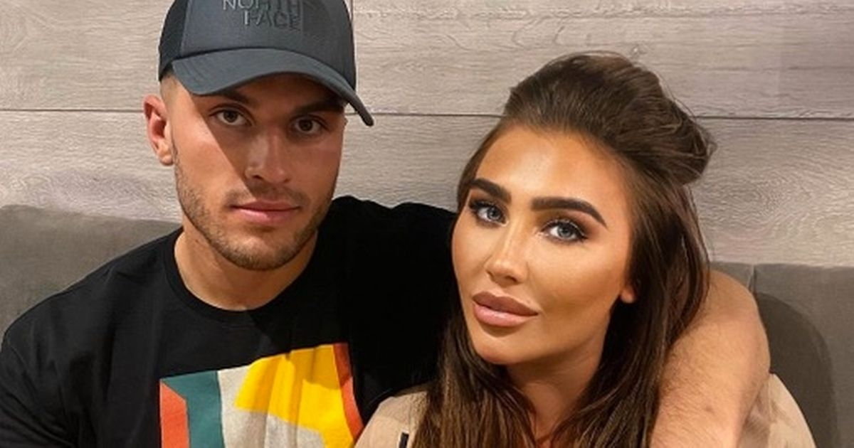 Lauren Goodger 'moves Charles Drury into her home' after '3-week' romance