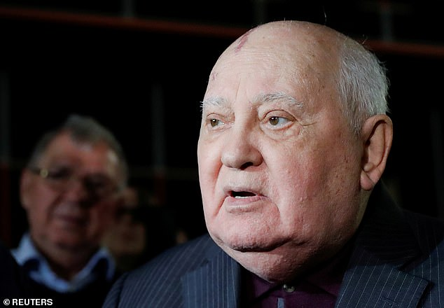 Eurythmics co-founder Dave Stewart said that former Soviet Premier Mikhail Gorbachev (pictured) told him that the 1980s soap opera 'had more effect' in ending the Cold War than anything else