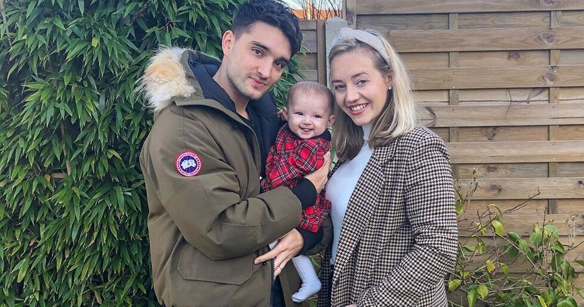 Tom Parker and wife Kelsey welcome baby after terminal brain tumour diagnosis