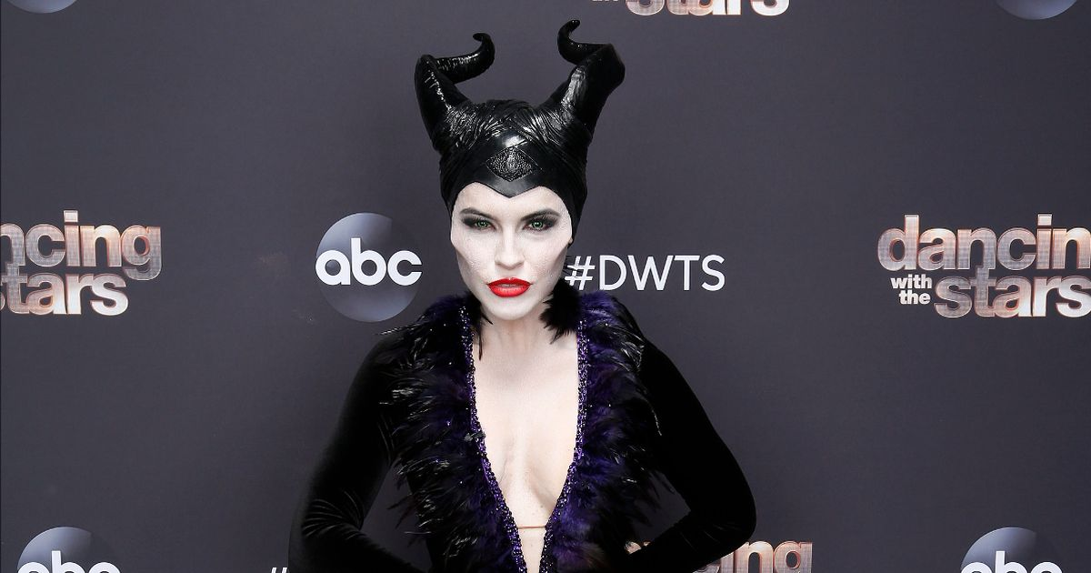 Selling Sunset's Chrishell unrecognisable as Maleficent for Halloween TV special