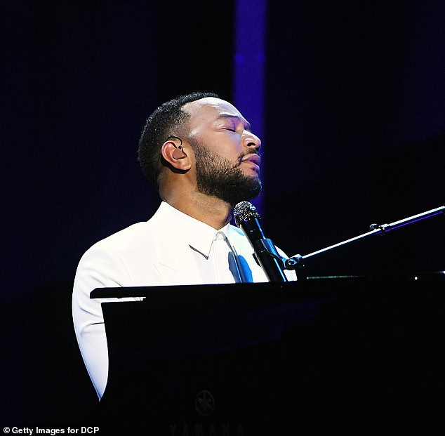 So much love:In his post, Legend, 41, shared video of his emotional Billboard Music Awards performance
