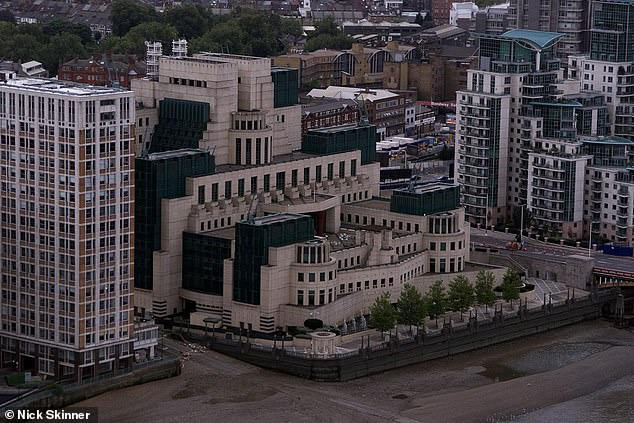 Lawyers for the Government, MI5 and MI6 conceded their case against Ahmed should not be held in secret but argued that evidence relating to the operations of the security services should still be heard behind closed doors. Pictured: MI5's Thamesbank headquarters