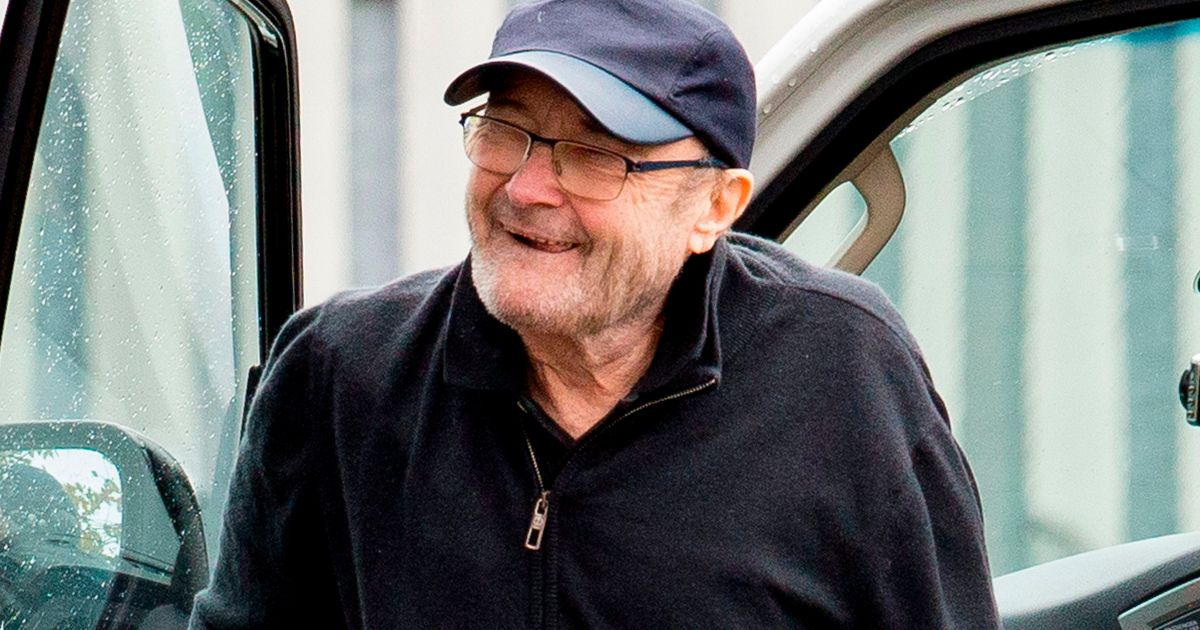 Frail Phil Collins gets into wheelchair for rehearsals amid ex-wife drama