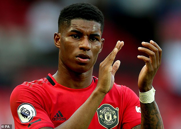 Last night Marcus Rashford, 22, tweeted about Flo, writing: 'I'm going to leave you with Flo because she is amazing'