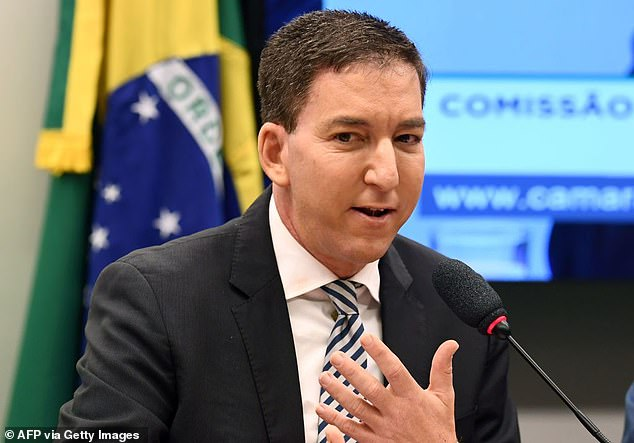 Greenwald, who lives in Brazil with his husband David Miranda, founded The Intercept in 2013 with fellow journalists Laura Poitras and Jeremy Scahill with funding from First Look Media