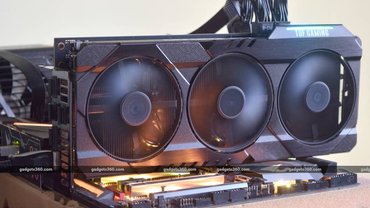 Asus TUF Gaming GeForce RTX 3070 Review