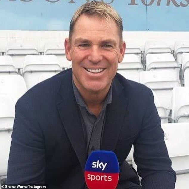 The star (pictured) was allowed to continue driving while living in London and covering the English Cricket season for Sky Sports after lodging an appeal