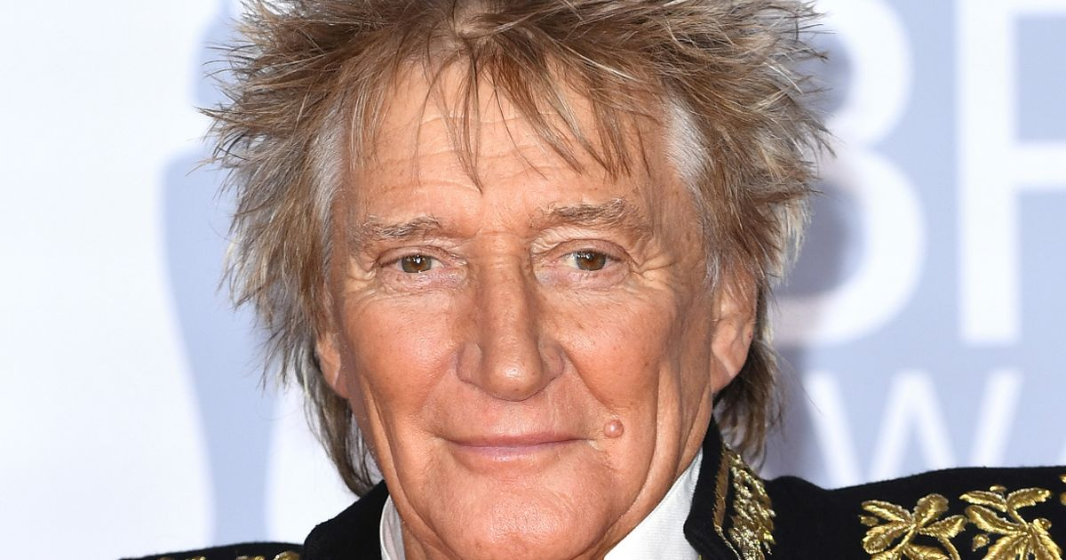 Rod Stewart discovered he had a daughter after his pal recognised her 'big nose'