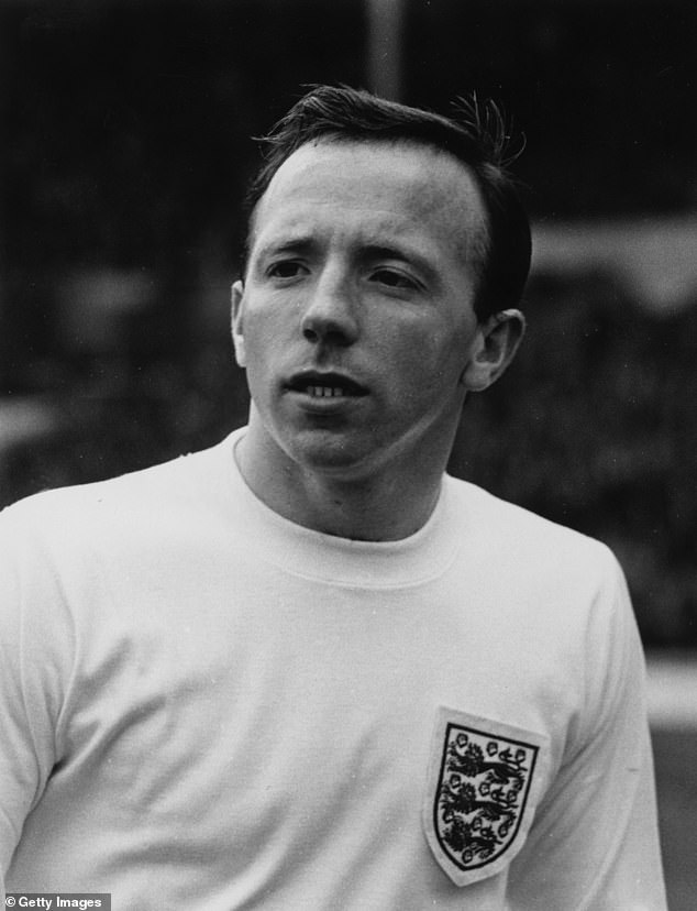 In total he won 28 caps for England, the lowest number of any of the World Cup-winning side