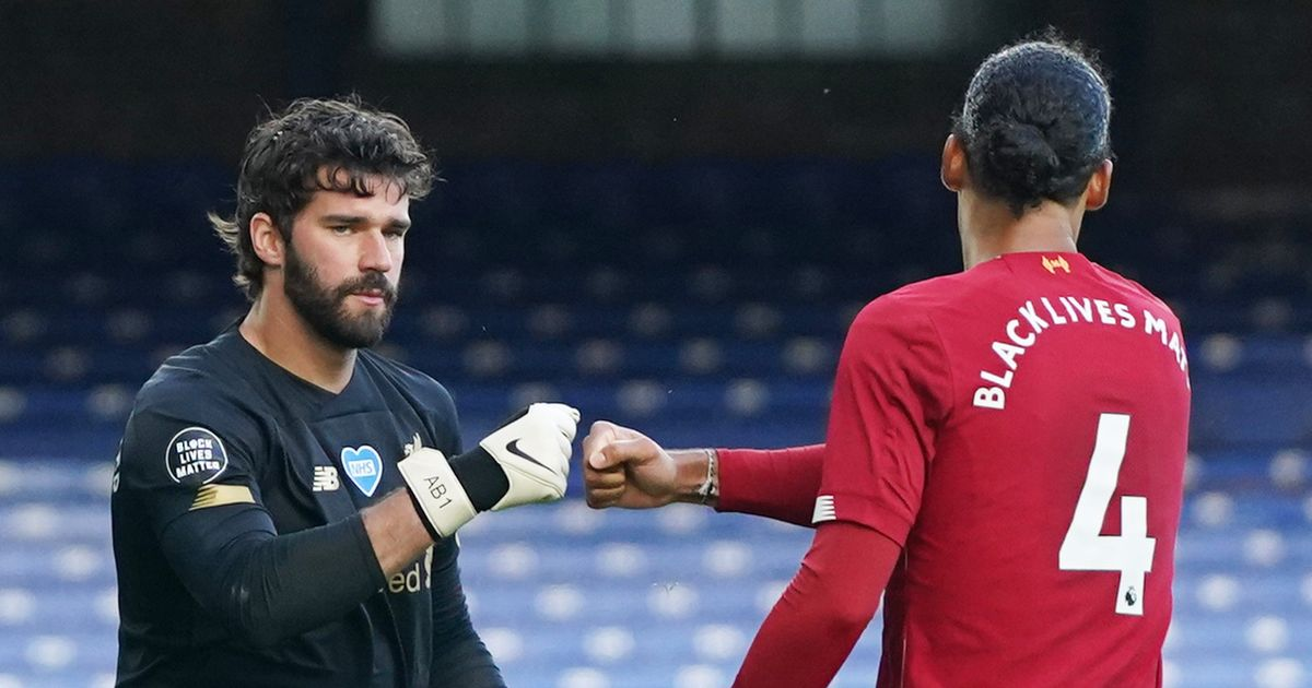 "Van Dijk absence played down as ""pivotal"" Alisson praised after Liverpool return"