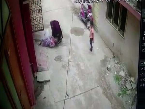 55-year-old Hyderabad woman dragged by hair, thrashed by daughter-in-law and her mother; attack caught on CCTV