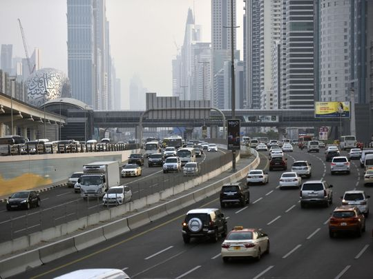 74% of UAE road users are either drivers or passengers in private cars, new survey finds