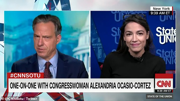 AOC says Biden's plan to 'transition' away from oil and fracking by 2050 is a good 'first step'