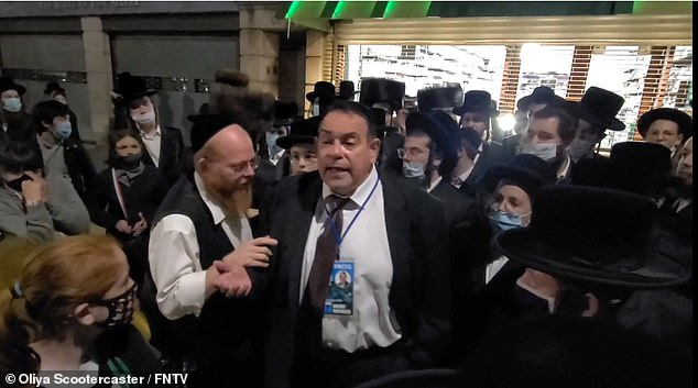 About 80 Orthodox Jews protest over Cuomo's restrictions in areas with COVID surges