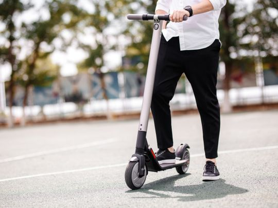 Abu Dhabi allows e-scooter rentals to resume