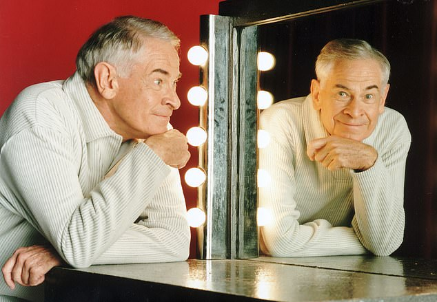 Actor Stanley Baxter, 94, reveals he is gay and tells of the sexuality he still wrestles