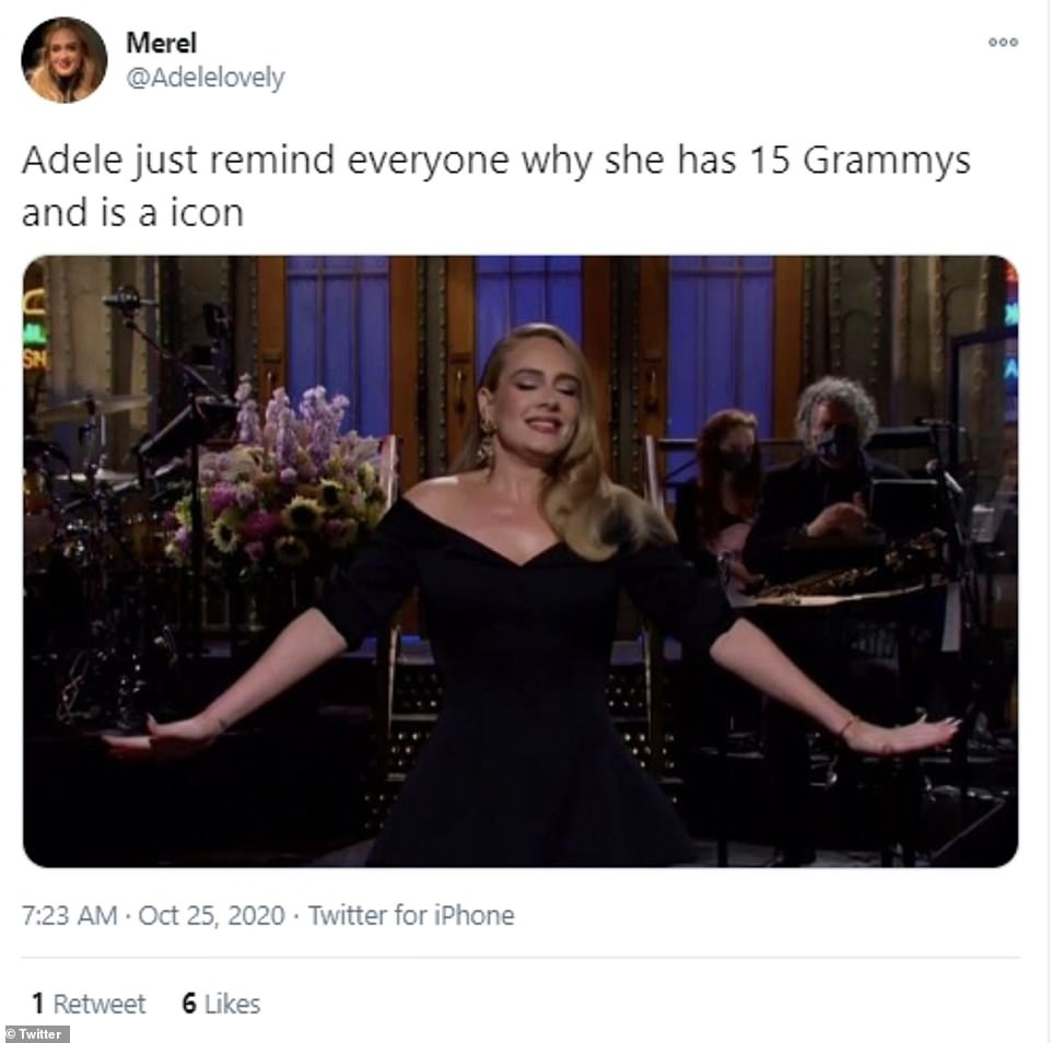 Adele fans hail her a 'comedy legend' for her SNL hosting stint