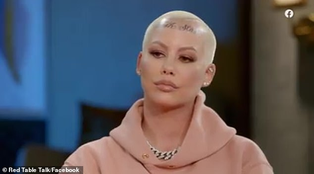 Amber Rose recalls how mystery ex 'ripped' her clothes off when she tried to break up with him