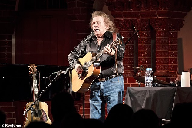Don McLean, 75, (pictured) who lives in Palm Desert, California, told The Irish Times, his ex-wife is the 'worst' person he's ever known