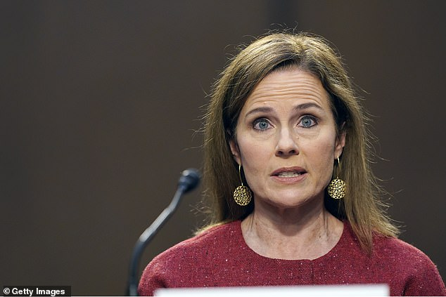 Amy Coney Barrett first full day of questions on her SCOTUS nomination and praises Justice Scalia