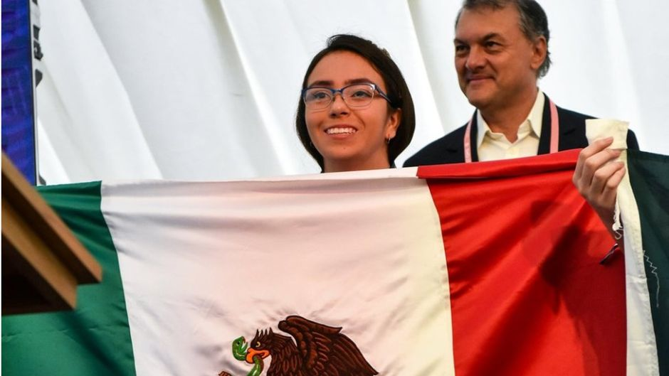 Ana Paula Jiménez, the young Mexican math prodigy who does not stop winning medals | The NY Journal