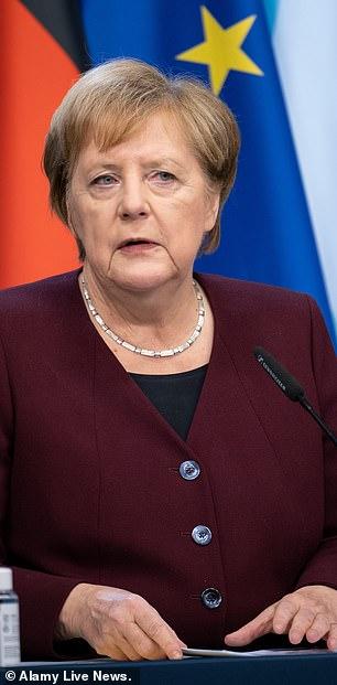 Angela Merkel warns Germans that 'difficult months are ahead of us'