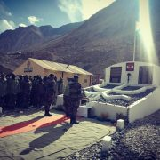 Army builds memorial in Ladakh for soldiers killed in Galwan Valley clash