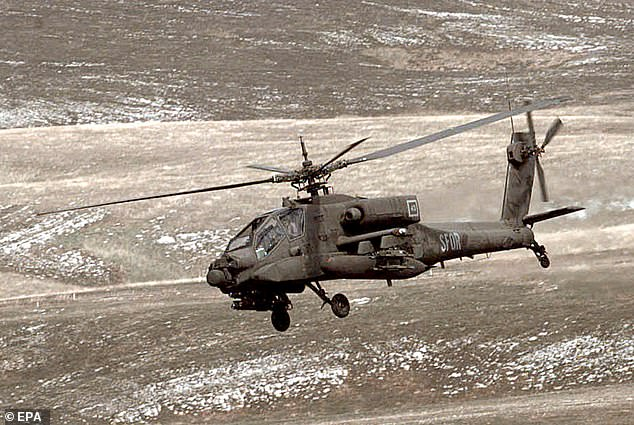 Army stops deliveries of Apache helicopters from Boeing