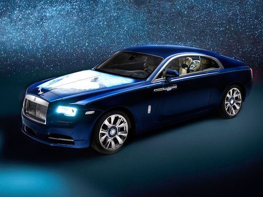 Bespoke Rolls-Royce Wraith features artwork depicting the Middle East