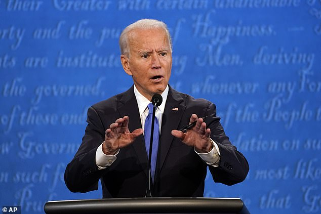 Biden promises transition away from oil by 2050 as Trump says: 'Windmills kill all the birds'