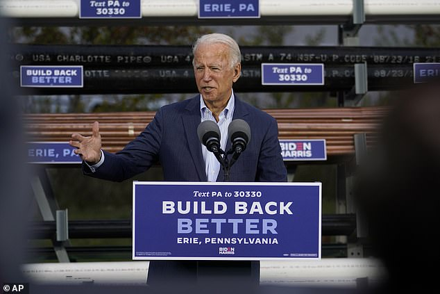 Biden says the only way he can lose election is through chicanery